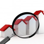 Growth in Real Estate with Magnifying Glass